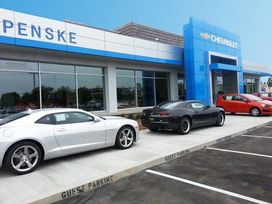 Store Front 2 Penske Chevrolet Of Cerritos