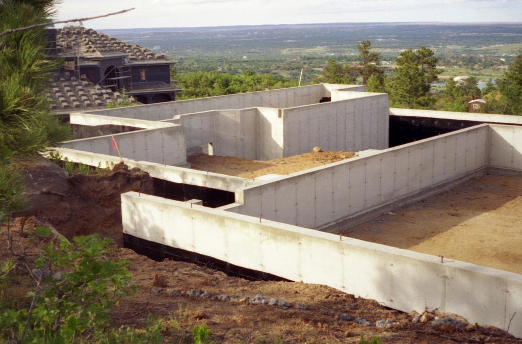 Residential Foundation from Rusin Concrete Construction in ...