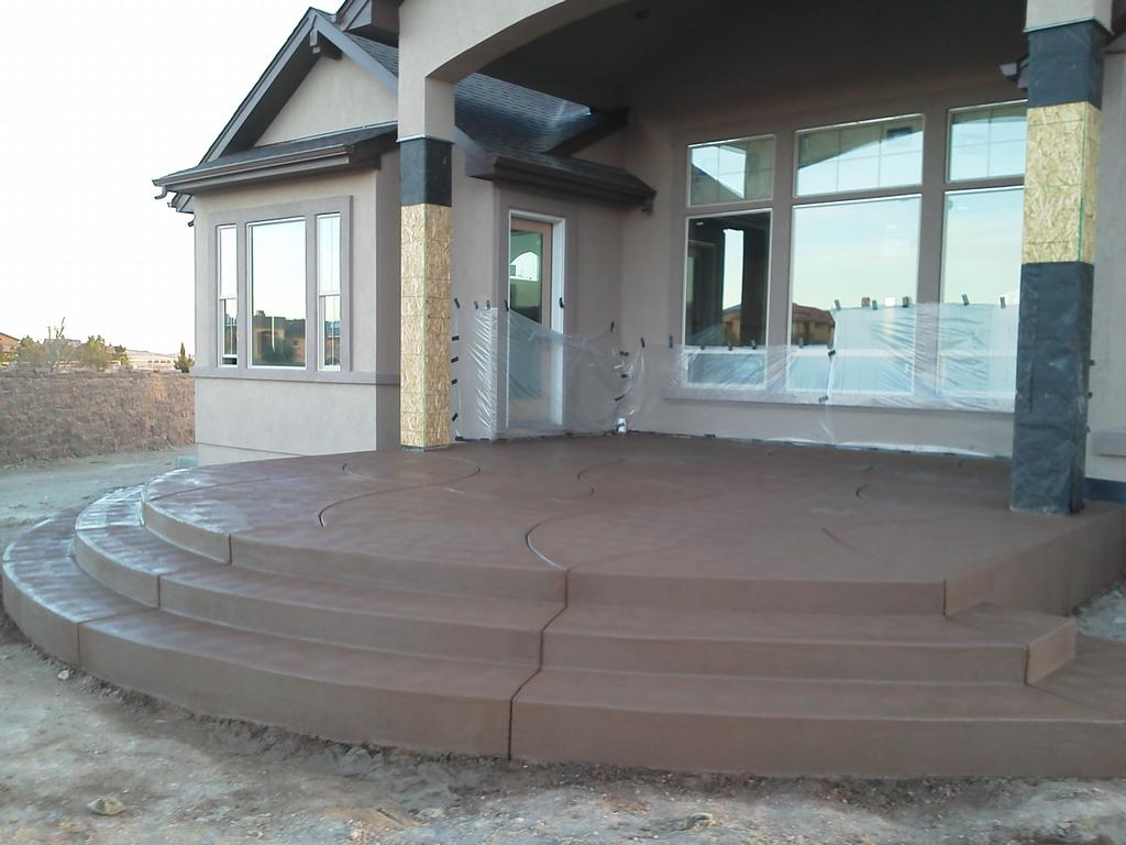 Residential Stairs from Rusin Concrete Construction in Colorado ...