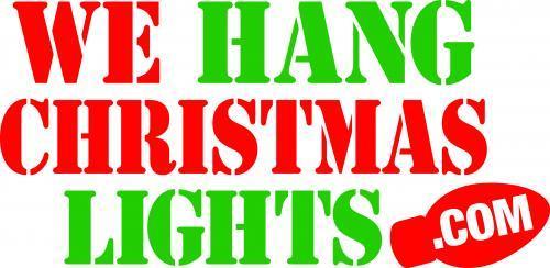 we hang christmas lights