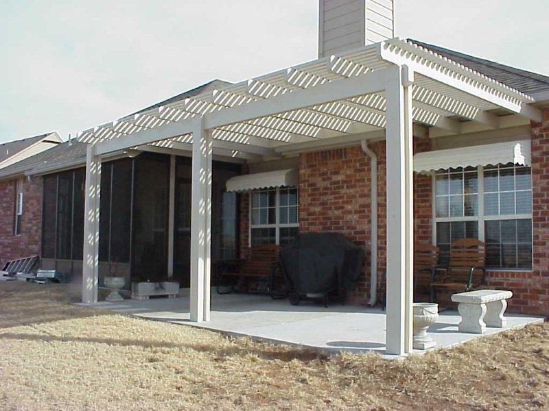 Alumawood Pergola Lattice Patio Cover From Phoenix