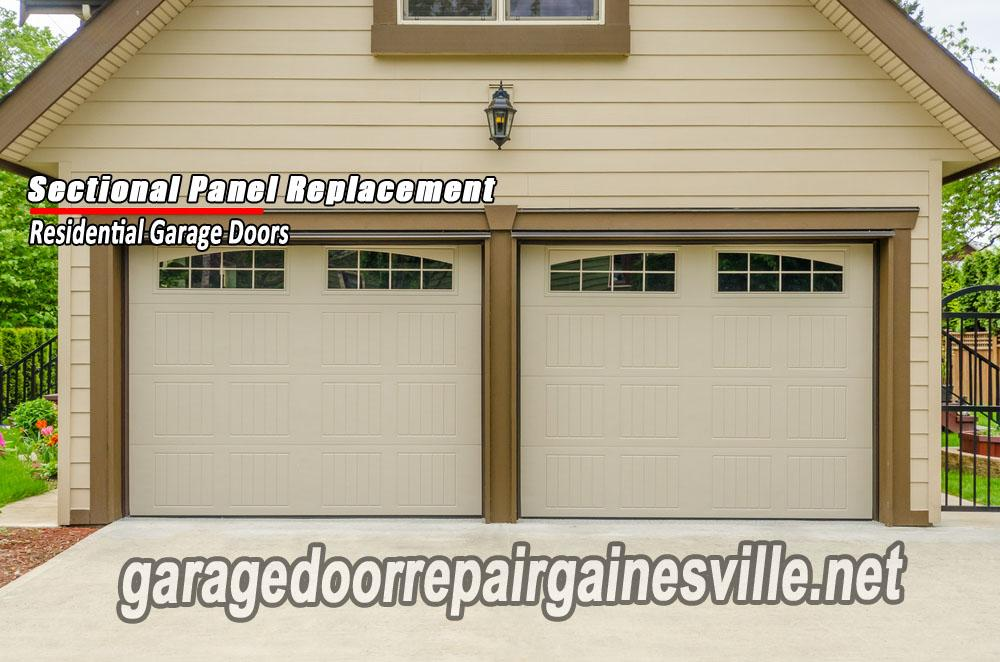Sectional Garage Door Panel Replacement : Gainesville ga garage door