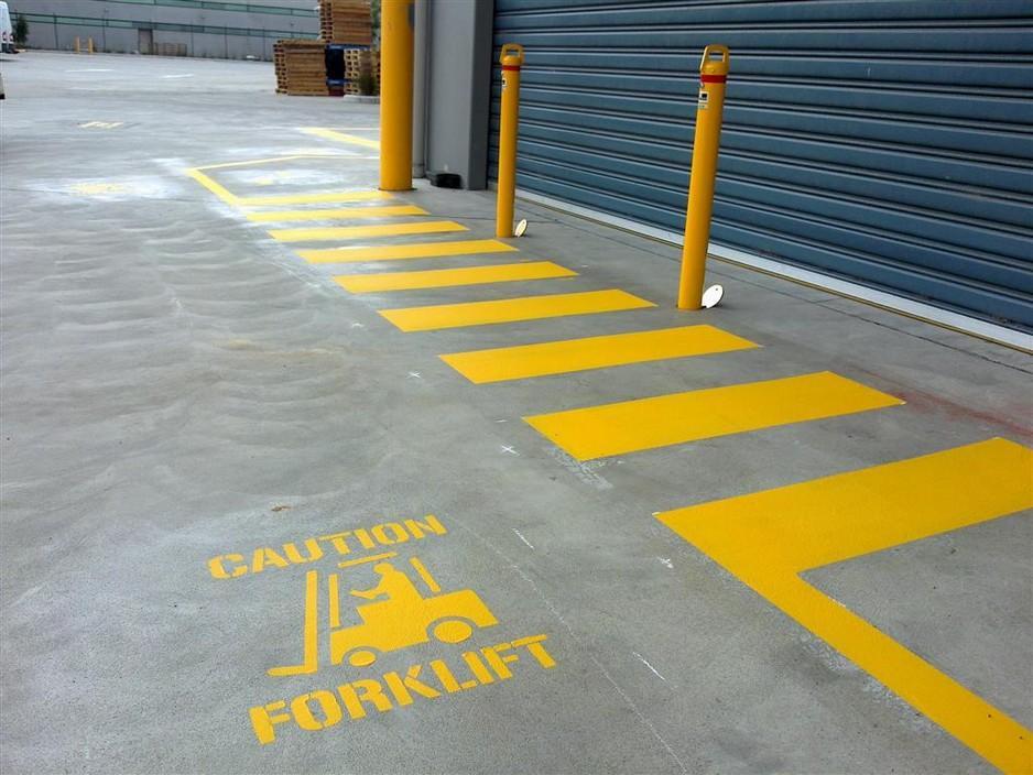 Industrial Safety Lines Line Marking Melbourne Melbourne