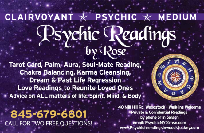 World Renowned Psychic Master Medium Clairvoyant - Psychic Rose 39+