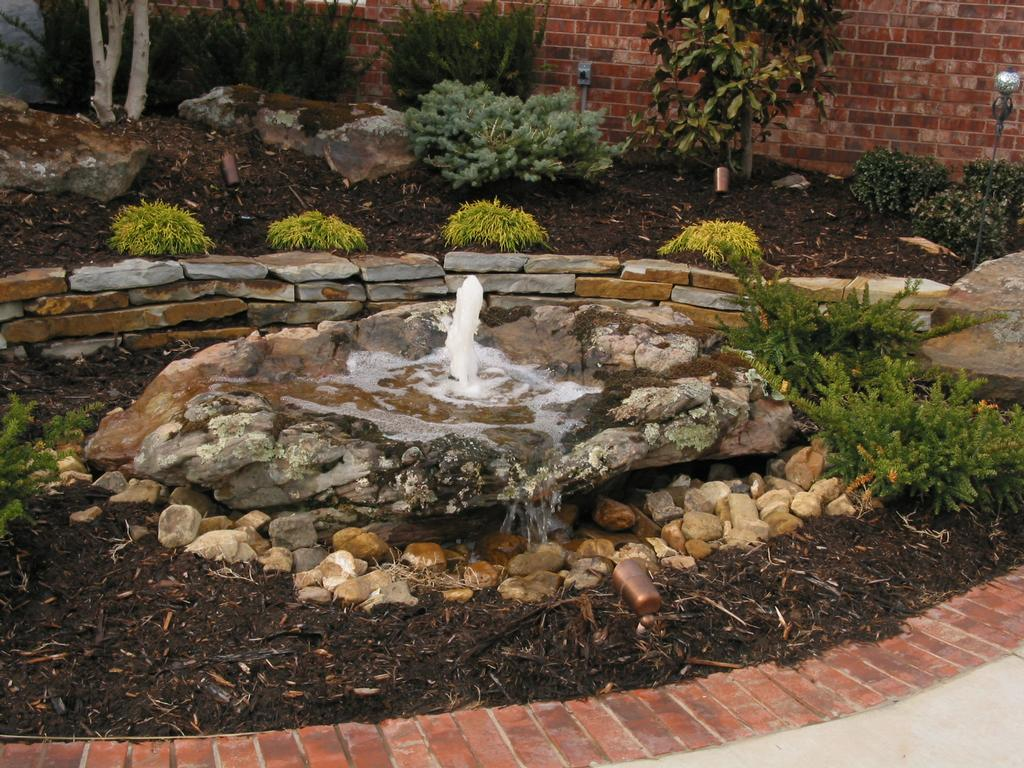 25 Spectacular Small Backyard Landscaping Ideas - SloDive on Rock Garden Waterfall Ideas id=24157