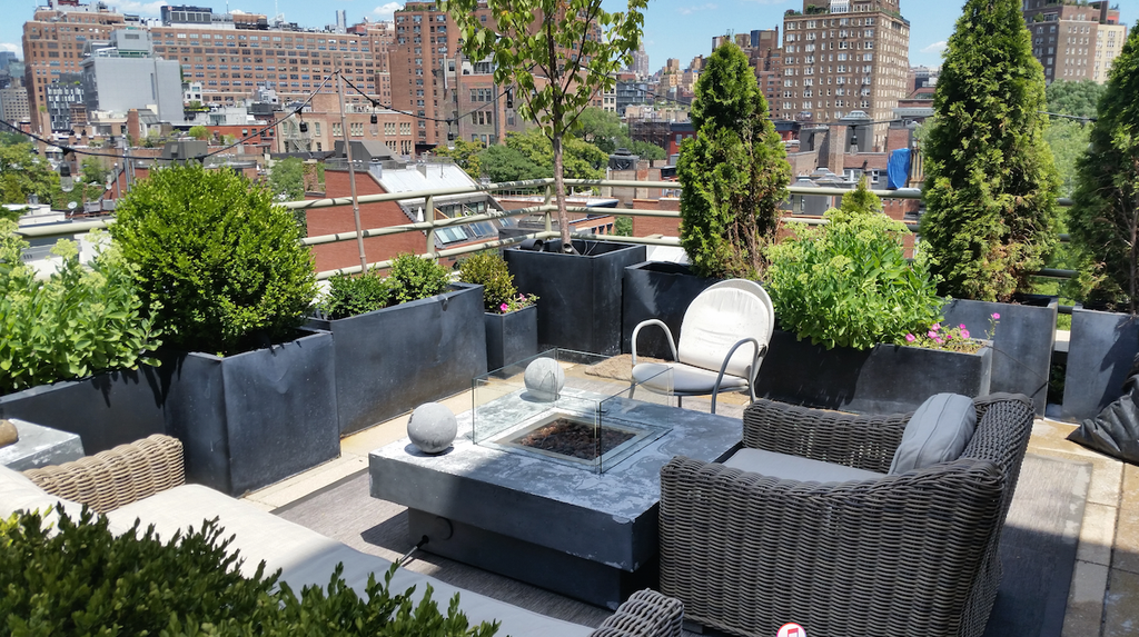 Nyc Garden Design design news Nyc Rooftop Penthouse Garden Design And Irrigation Installation