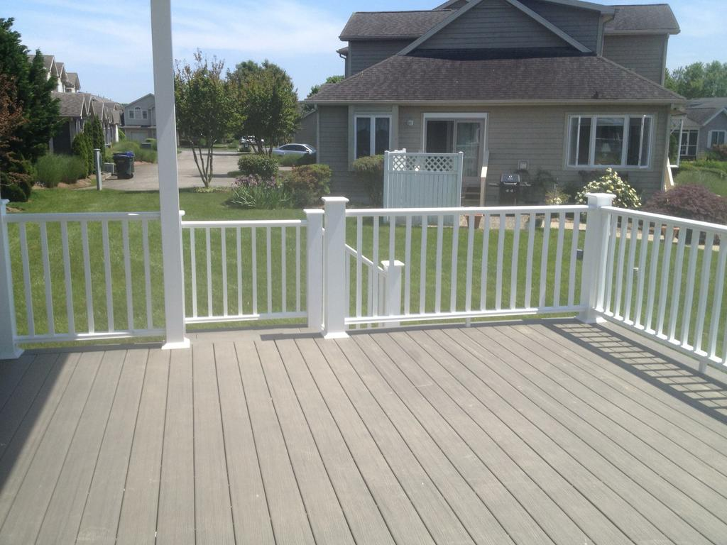 Photos from businesses in frankford de Compare composite decking brands