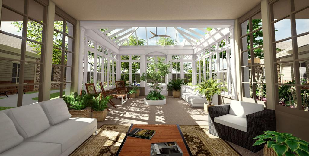 our purpose built design creates smaller more familiar spaces where