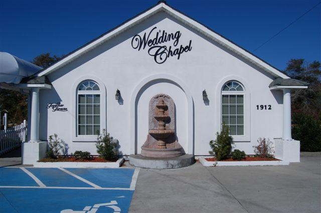 Chapel Front From Together Forever Wedding In North Myrtle