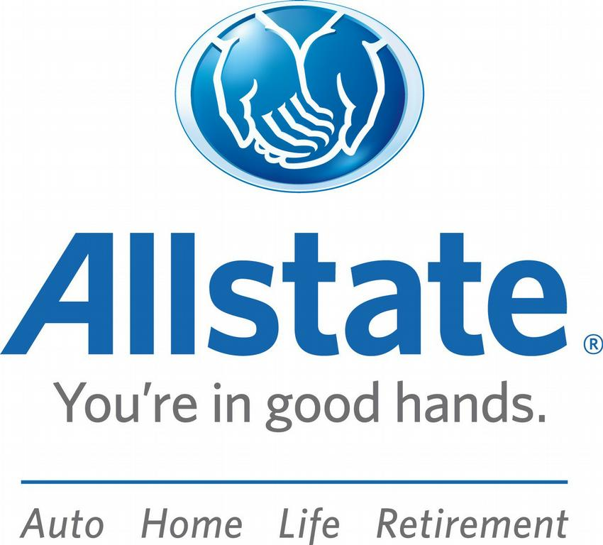 Allstate logo center auto home life retire by allstate mark turley