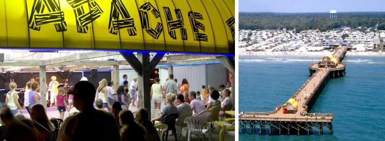 Apache Pier Myrtle Beach Sc The Best Beaches In World