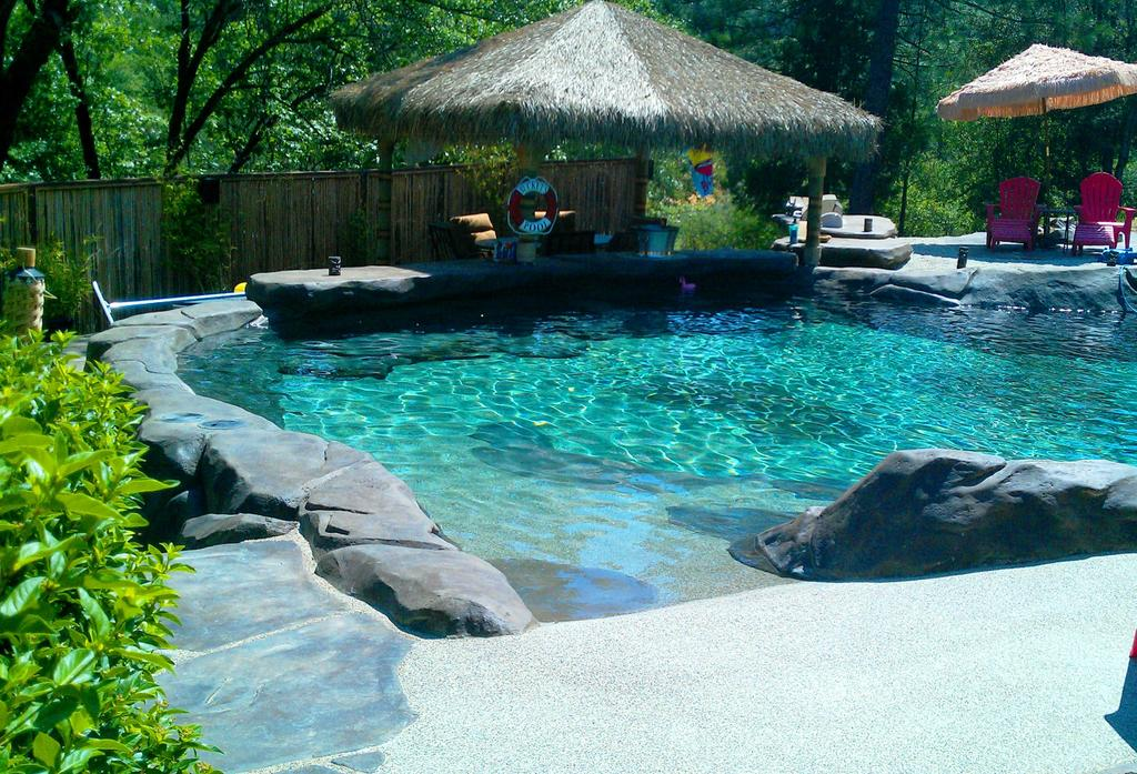 Pictures for natural design swimming holes waterfalls in auburn ca 95602 - Beach entry swimming pool designs ...