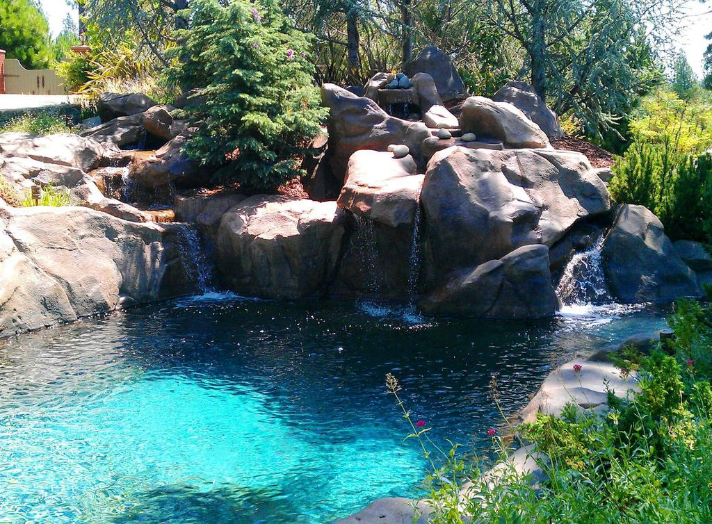 Natural Design Swimming Holes & Waterfalls - Auburn CA 95602 ...