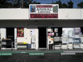 Animal Lovers Pet Shop - Torrance, CA