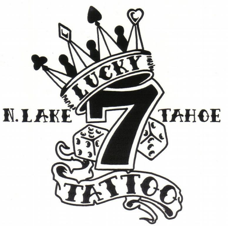Lucky 7 tattoo piercing kings beach ca 96143 530 546 for Lucky seven tattoo