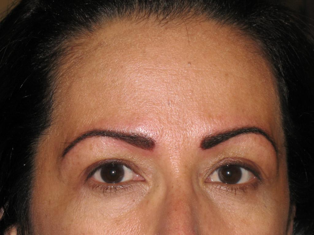 Cosmetic eyebrow tattoo for Cosmetic eyebrow tattoo