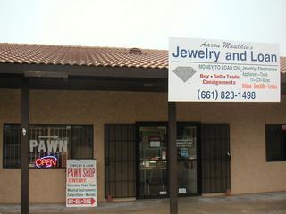 Aaron Mauldins Jewelry & Loan - Tehachapi, CA