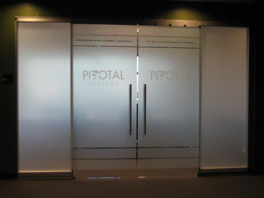 Custom Conference Room Privacy Film Design From