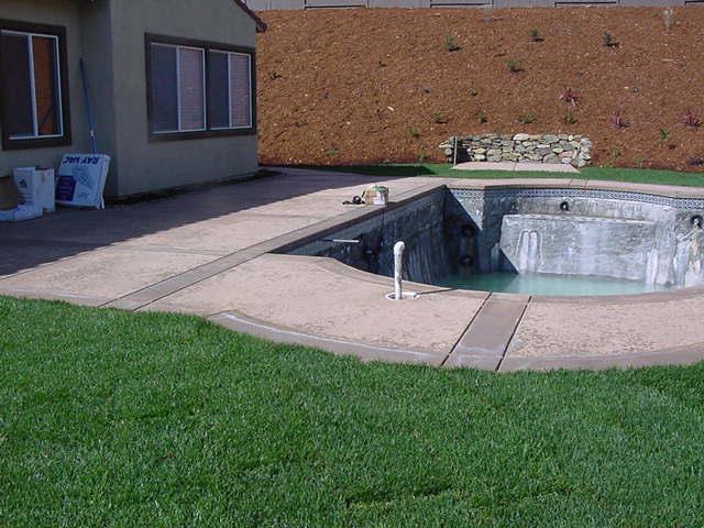 concrete backyard 3 from bill todd masonry concrete