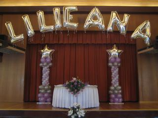 Balloon creations by carolyn balloons by carolyn for Balloon decoration ideas for a quinceanera