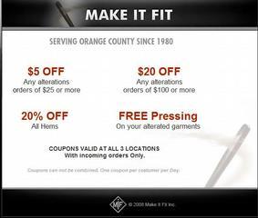 Make It Fit Inc - Tustin, CA