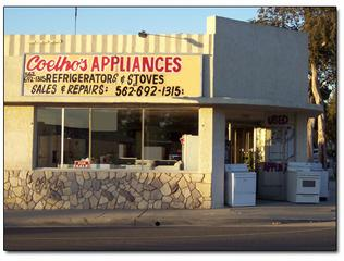 Coelhos Appliance - Whittier, CA