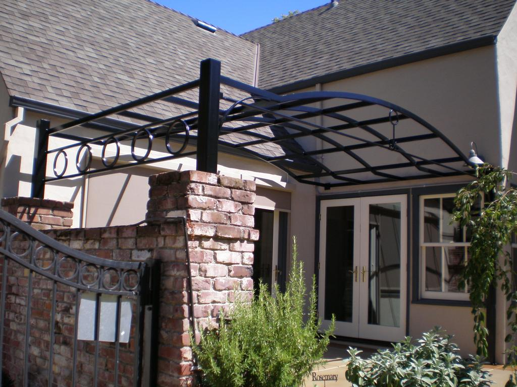 Custom Steel Patio Cover from Twisted Metal in Sacramento