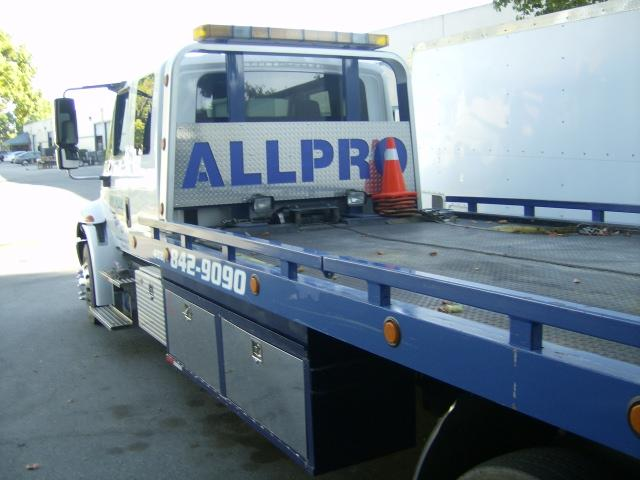 All Pro Towing Amp Recovery Gilroy Ca 95020 408 842 9090
