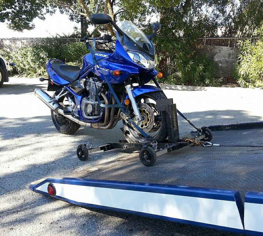 Motorcycle Transport Safe Secure Condor Cycle Loader