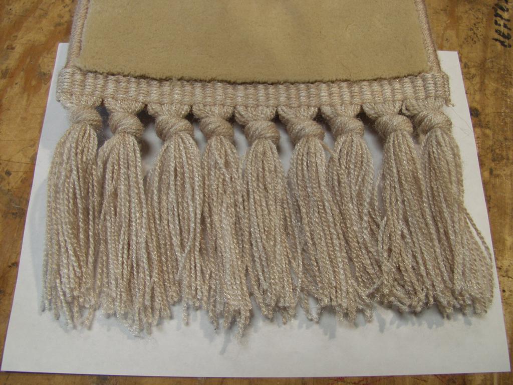 Standard 4 Knot Fringe From California Rug Finishing In