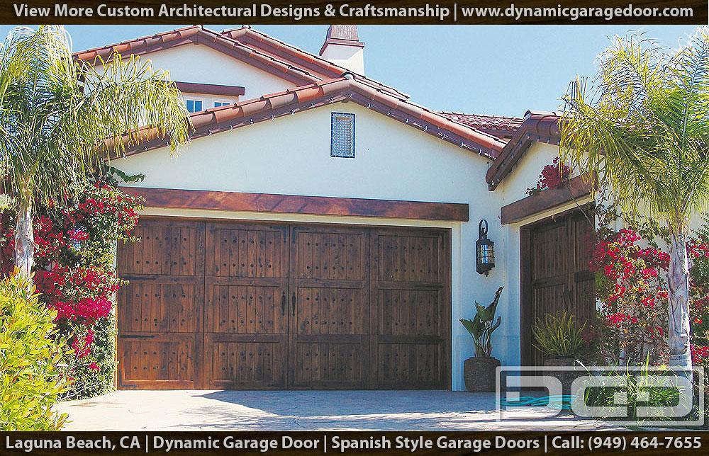Spanish garage doors 12 santa barbara style garage doors for Door in spanish