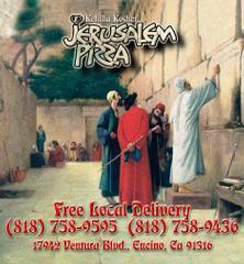 Jerusalem Pizza & Sushi - Encino, CA