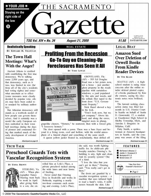The first British newspaper in India was a satirical tabloid |The Gazette Newspaper