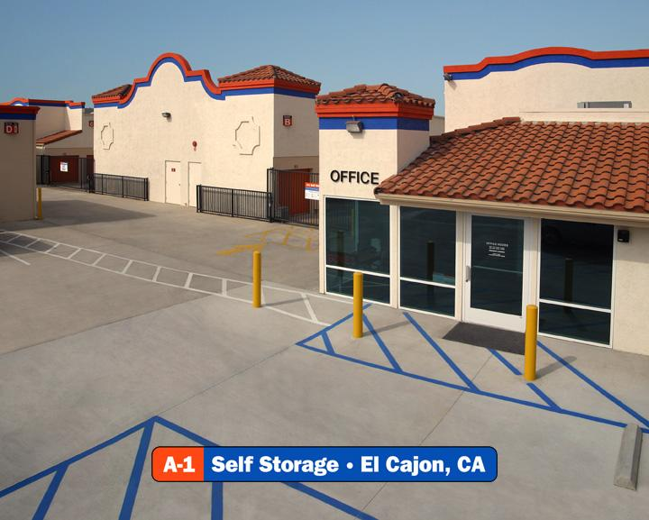 A1 Self Storage  El Cajon CA 92020  6196314206  Shipping