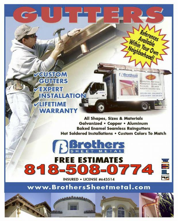 Bros Advertisement Flyer With Pics On Bottom With 818