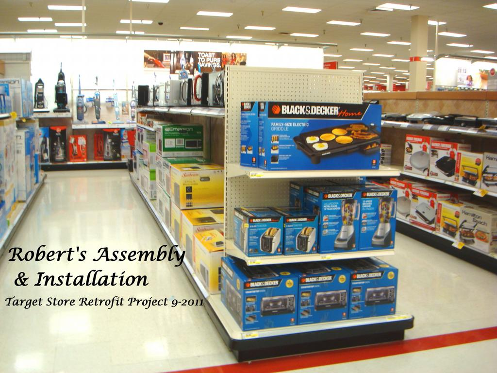 Target Stores Retrofit Project 9 2011 From Roberts