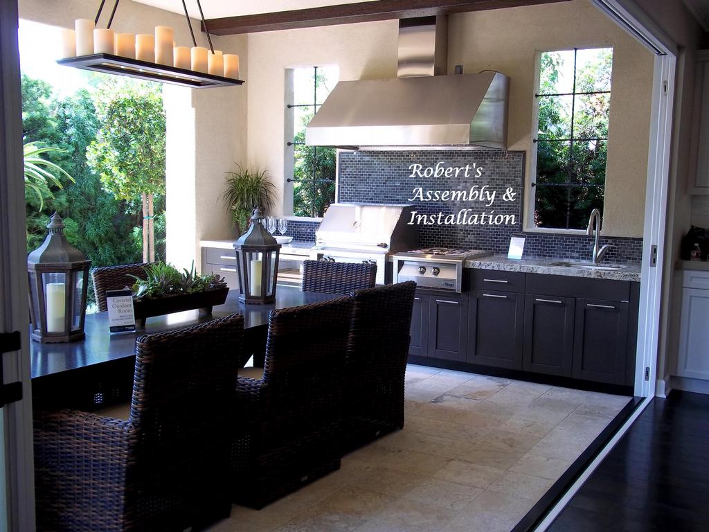 Danver Stainless Steel Outdoor Kitchen From Roberts Assembly Installation In Temecula Ca 92589