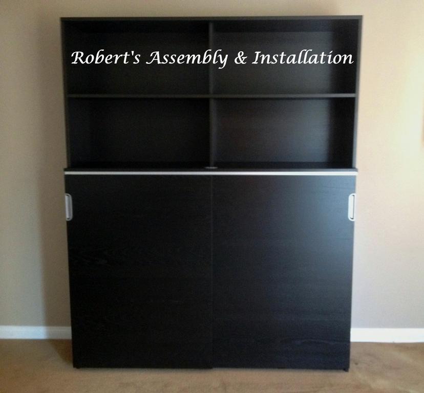 IKEA GALANT STORAGE COMBO WITH DOORSOCEANSIDE By Roberts Assembly U0026  Installation