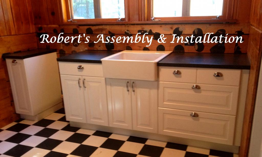 Pictures for roberts assembly installation in temecula for Assembling ikea kitchen cabinets