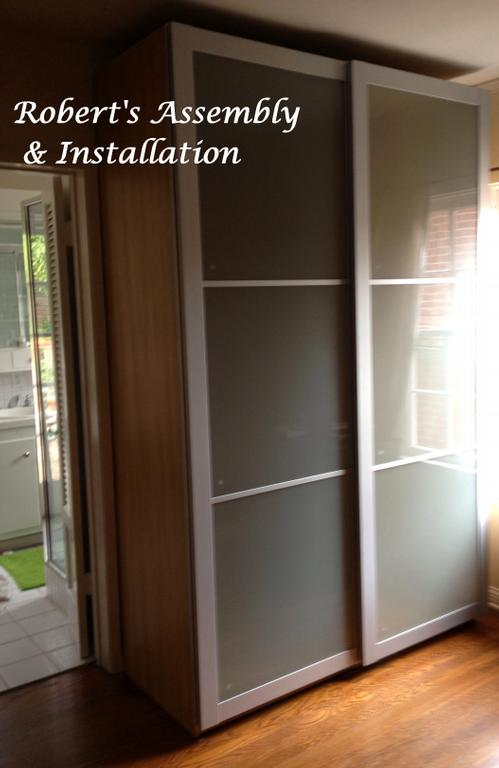 Ikea pax wardrobe la jolla from roberts assembly installation in temecula ca 92589 - Installation armoire ikea ...