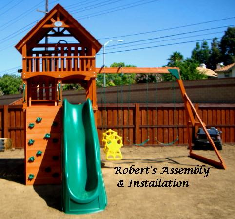 Sam S Club Highlander Play Set From Roberts Assembly Installation
