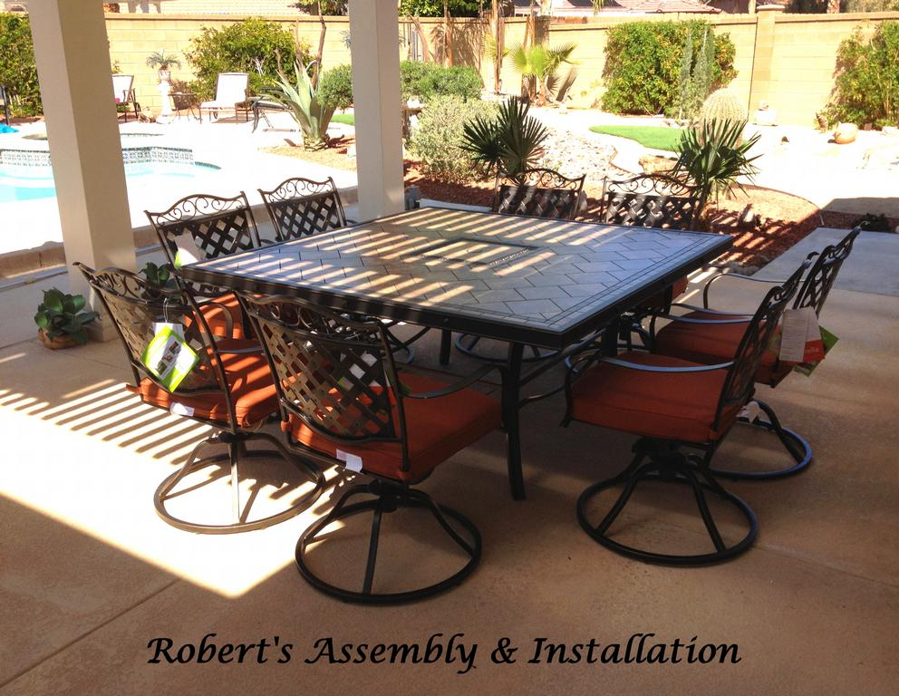 Piece Catania Dining Patio SAMS CLUB CATHEDRAL CITY From Roberts Assembly Installation In
