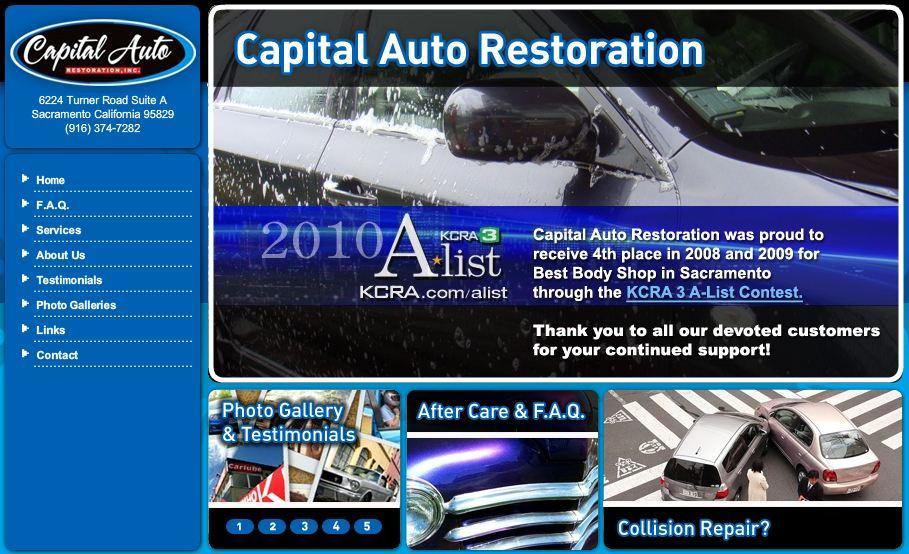 Pictures for capital auto restoration in sacramento ca 95829 for Capital motors used cars