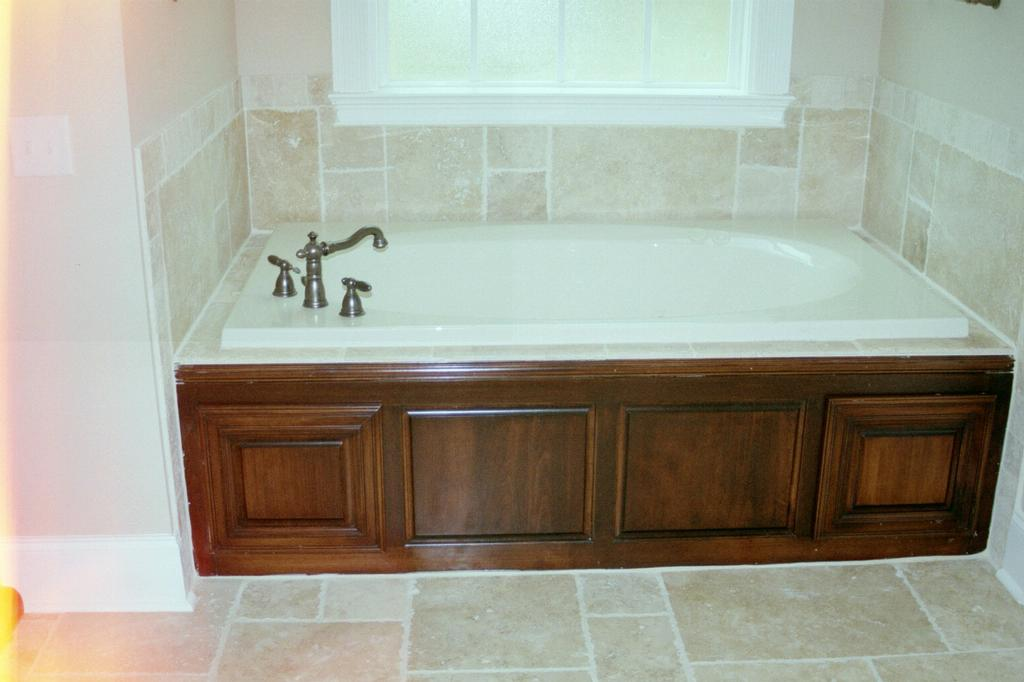 Wood Panel: Bathtub Wood Panel