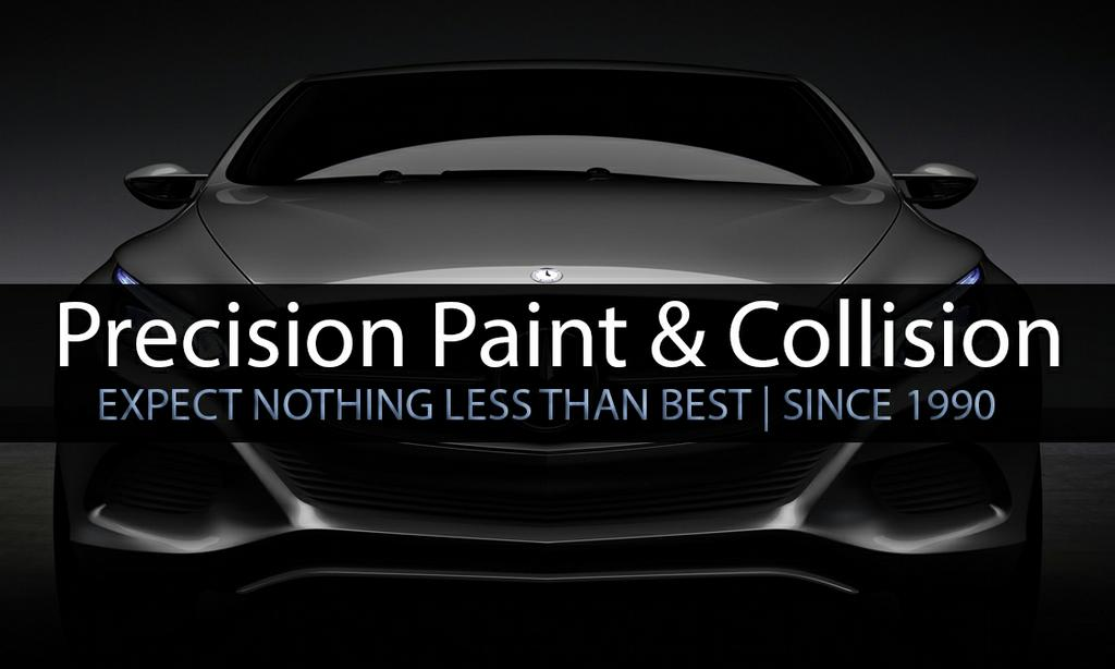 auto-business-card-front from Precision Paint Collision & Auto ...