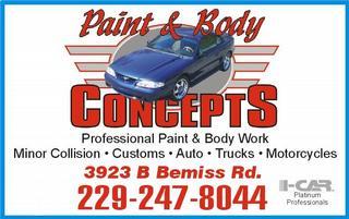 Paint & Body Concepts - Valdosta, GA