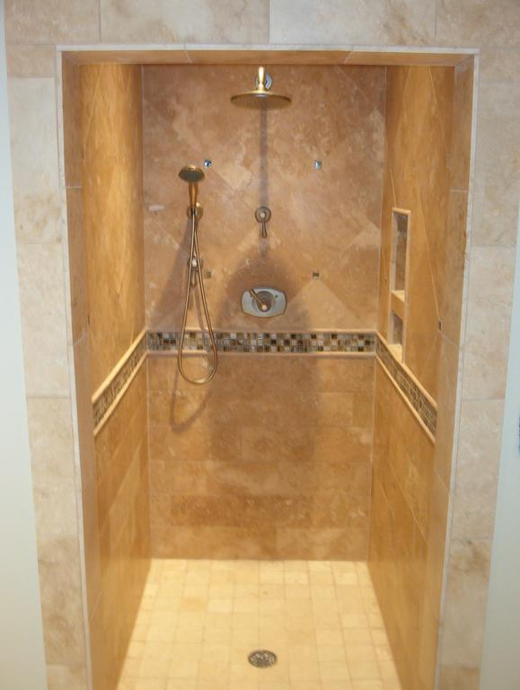 Tile showers are highly Accessible as well