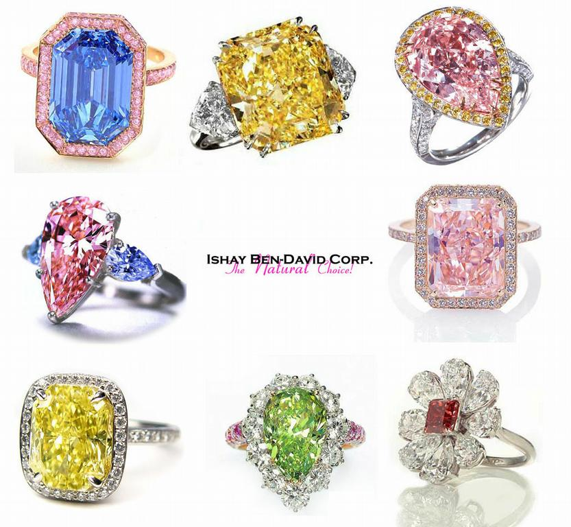 Natural Fancy Colored Diamonds by Ishay Ben-David Corp. - New York ...