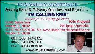 Kris Krajecki Fox Valley Mortgage - Dundee, IL