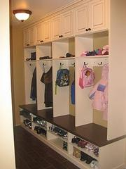 Mudroom Cabinets All About Closets In Chicago Il 60616